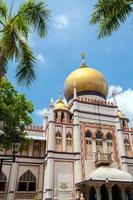 sultão masjid de cingapura foto