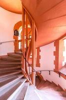escada em espiral antiga