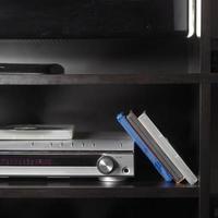 aparelho de TV e DVD