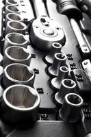 kit de ferramentas, foco seletivo