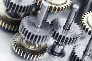 mecanismo de rodas de engrenagem