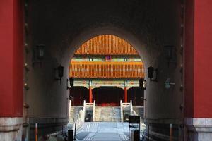 cidade proibida de beijing na china