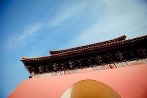túmulos da dinastia ming em beijing, china foto