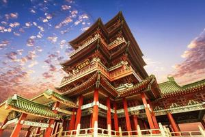 arquitetura antiga chinesa, religiosa antiga foto