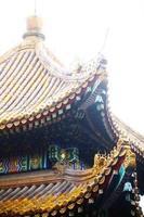 telhados chineses foto