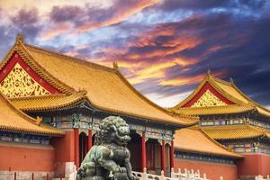 a cidade proibida de beijing, china foto