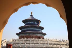 templo do céu, beijing, china foto