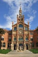 hospital de sant pau em barcelona foto
