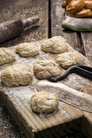 biscoitos frescos foto