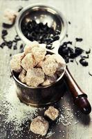 chá e açúcar foto