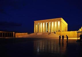 Anitkabir - mausoléu de Ataturk - imagem de stock