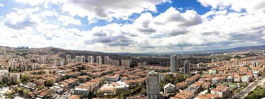 panorama de cankaya foto