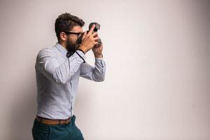 fotógrafo foto