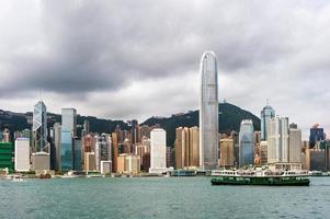 cidade de hong kong foto