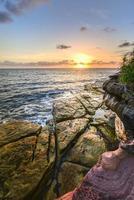 Coogee Beach, Sydney, Austrália.