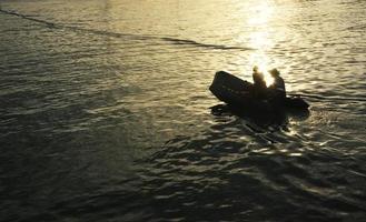 viagem de barco foto
