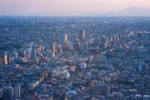 vista de tóquio. foto