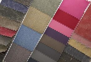 amostras de amostras de tecido material textura foto