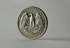 um quarto de dólar foto