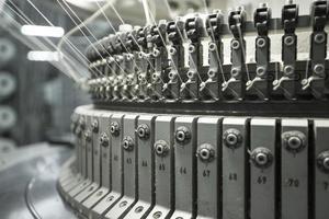 máquina têxtil foto