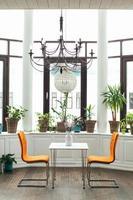 cadeiras de café conceitual foto