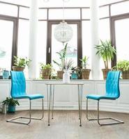 cadeiras de café conceitual