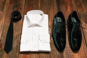 conjunto de casamento para o noivo