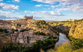 paisagem urbana de toledo espanha