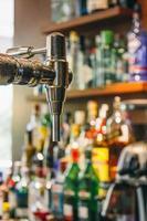 dispensador de cerveja da torneira foto