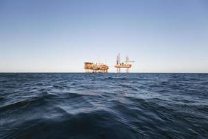 indústria de petróleo foto