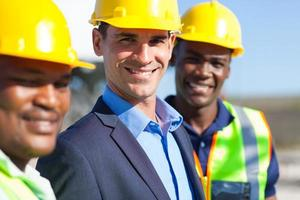 engenheiros de construção foto
