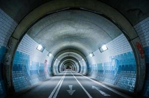 o tubo azul foto