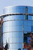 detalhe do edifício moderno foto