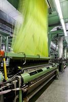 fábrica têxtil foto