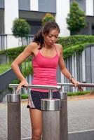 ginásio de fitness mulher foto