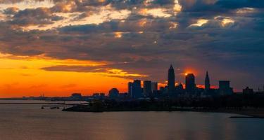 exibição do nascer do sol de cleveland foto