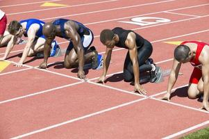 atletas competindo foto