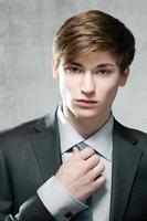 retrato de um homem de negócios jovem