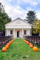 portão para um casamento na vila foto