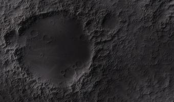superfície da lua foto