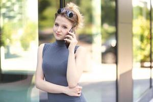 jovem empresária foto