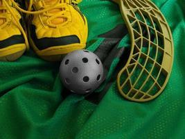 equipamentos floorball 3 foto