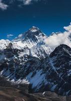 pico da montanha everest ou chomolungma
