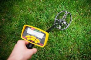 detector de metais em ação foto