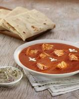 Paneer Makhani, comida indiana, Índia foto