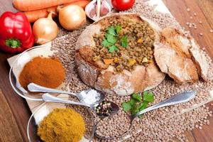 lentilha indiana tradicional dal