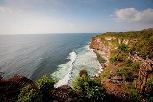costa do oceano índico, indonésia foto