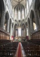 interior da catedral foto