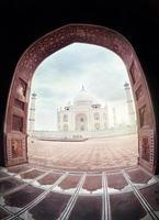 Taj Mahal na Índia foto