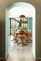 interior, sala de jantar